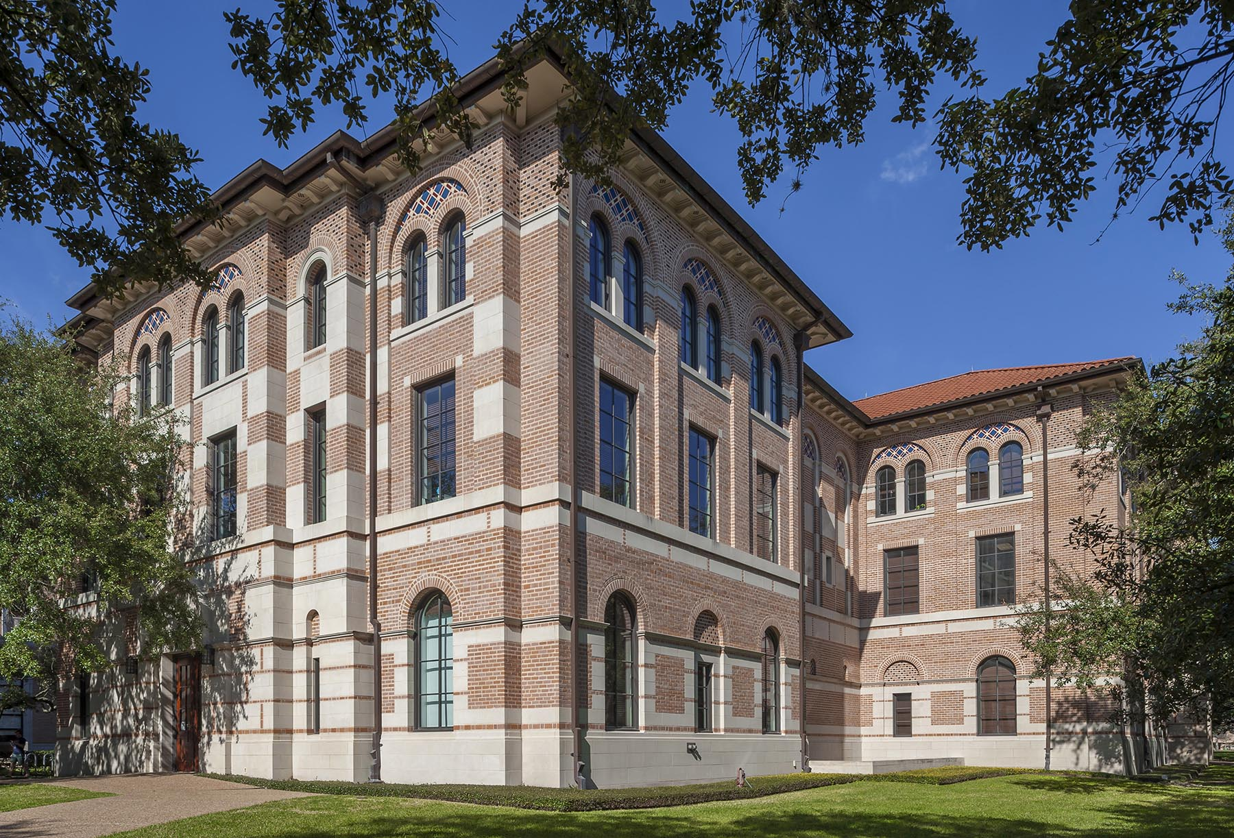 HUMANITIES BUILDING RICE UNIVERSITY Allan Greenberg Architect